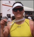 Joe Tidy - triathlete. 3/4 races a year since 2010