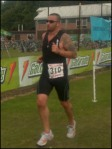Stuart Sturgess - triathlete. Ironman distance runner. 3/4 races a year.
