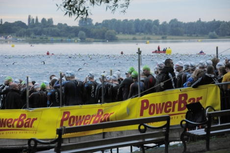 Bolton Ironman Swim Start, bolton ironman swim, ironman UK review