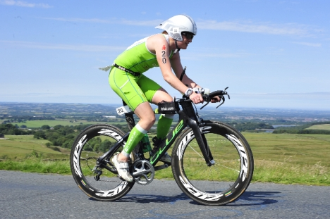 Bolton Ironman UK Eimear Mullan - Bike - FinisherPix, Bolton ironman review, bolton ironman tips bike hills