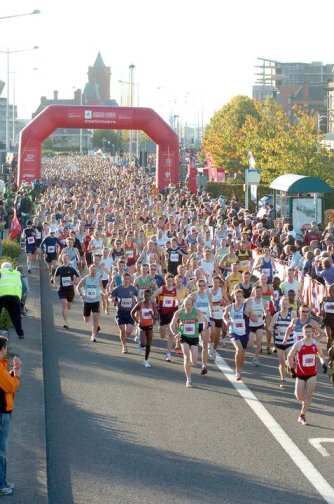 cardiff half marathon course