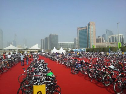abu dhabi triathlon review, abu dhabi triathlon transition