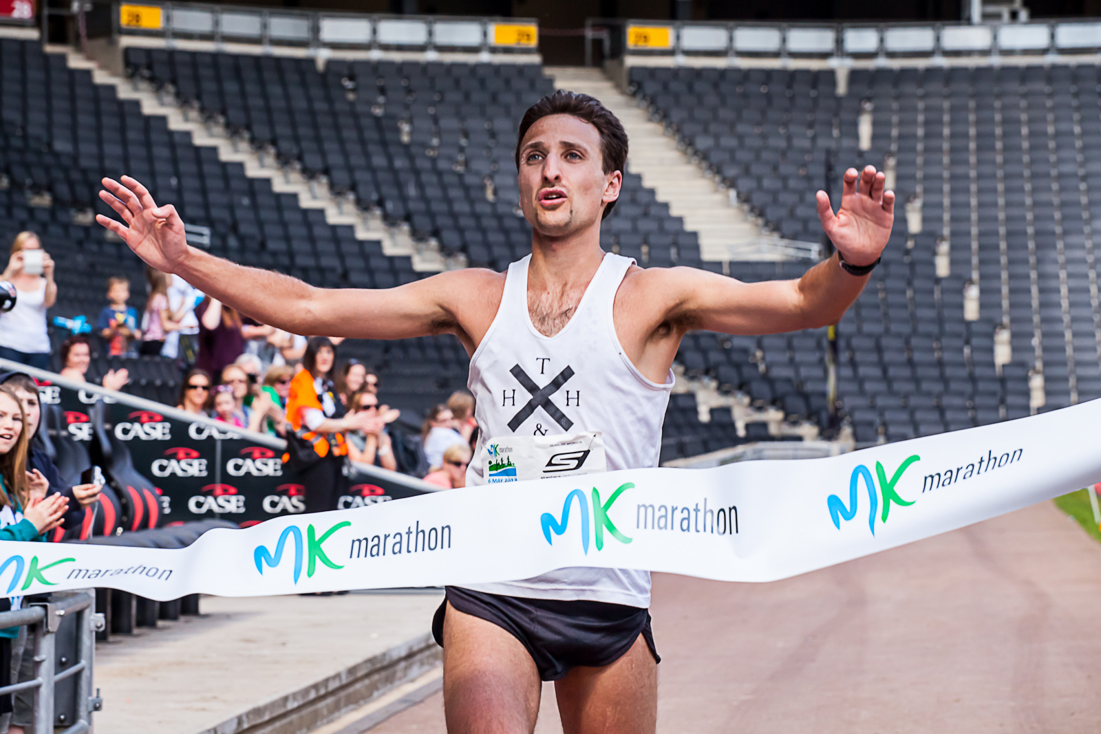 milton keynes marathon finish