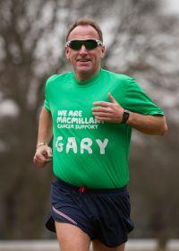 Gary Dixon, marathon runner and future centurion!