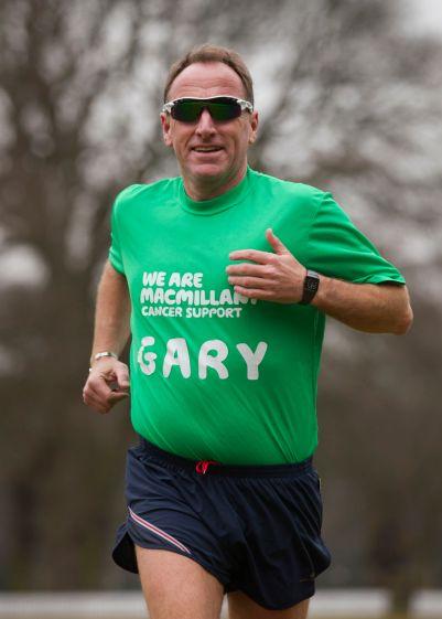 Gary Dixon, marathon runner and Centurion!