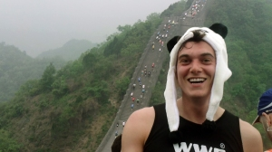 joe tidy great wall marathon
