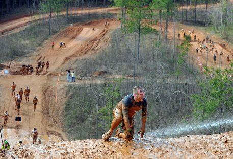 Tough Mudder Climb