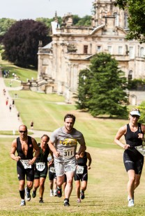 castle howard triathlon run, castle howard triathlon review