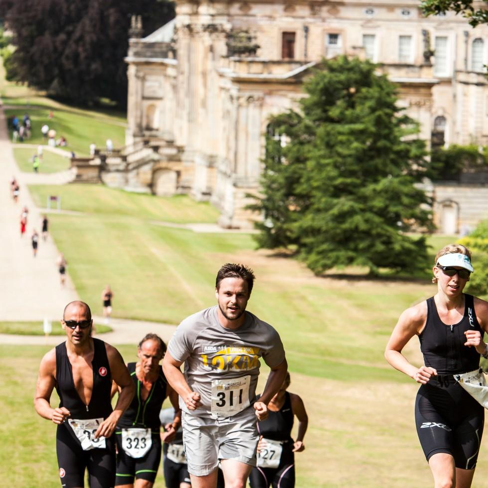 castle howard triathlon run, castle howard triathlon review