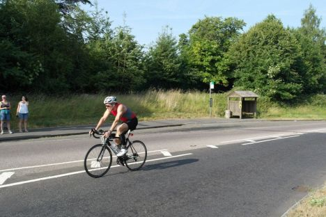 Marlow Half Ironman transition racking, marlow half ironman triathlon review