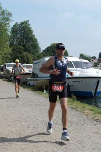 Marlow Half ironman triathlon run, marlow triathlon thames run difficult