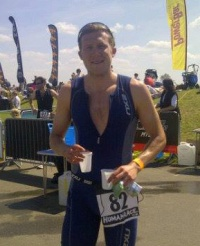 Adam Bennett - long distance triathlete