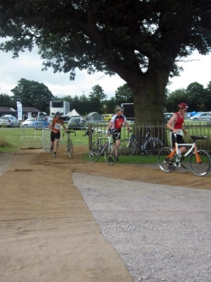 peoples triathlon transition, triathlon review, whitchurch shropshire traithlon events