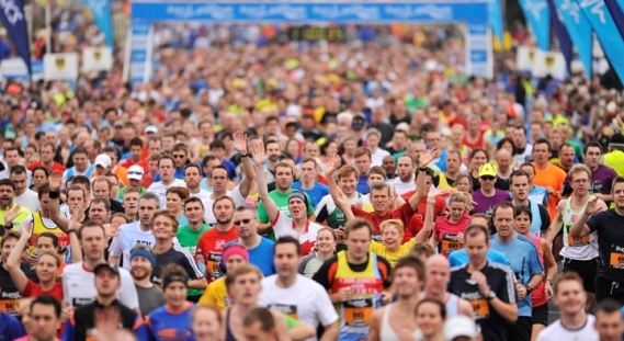 great south run, 10 mile run portsmouth