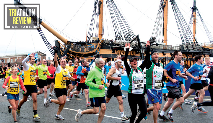 GREAT SOUTH RUN REVIEW, great south run course, training for great south run, triathlon review