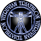 vitruvian triathlon logo