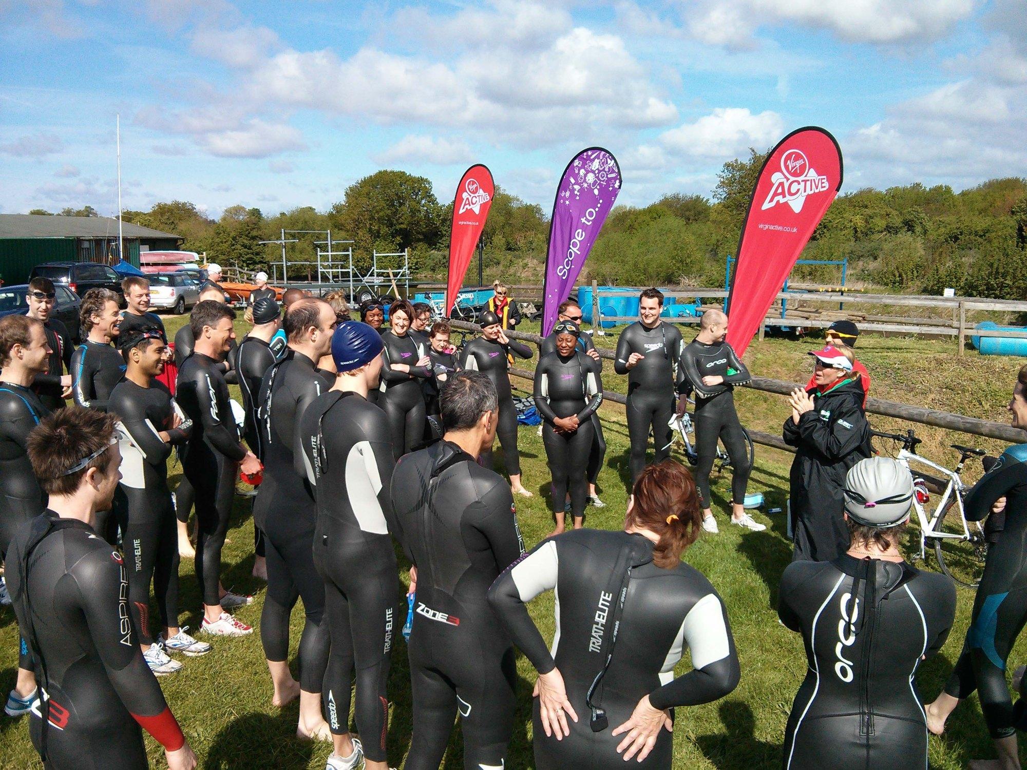IMG Triathlon Training Day, triathlon training programme