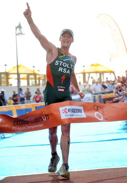 Conrad stoltz winning, Conrad stoltz world champion, Conrad stoltz traithlon 2014