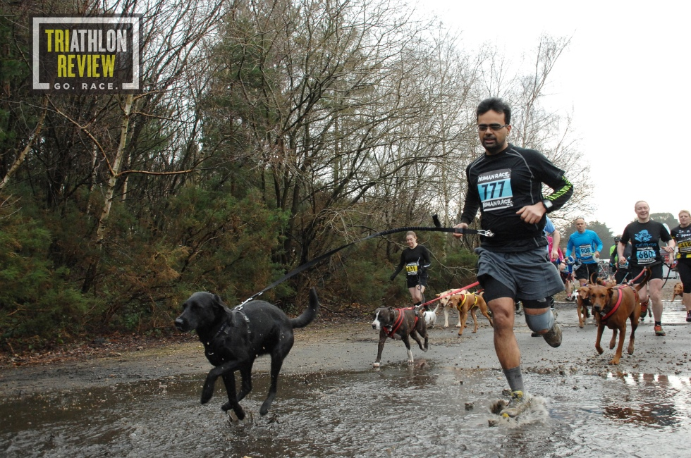 Ice Man Tri Review, trial running events, trial running advice, human race events
