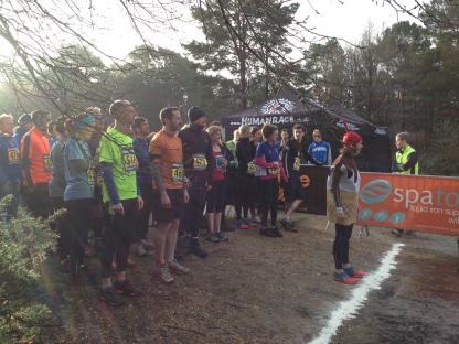 IceMan trial run race start, trial running surrey, trial running events, trial running advice