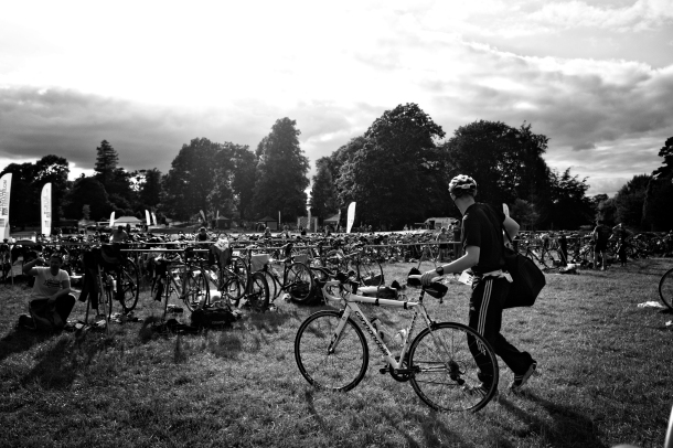 hever castle evening triathlon sprint event 2014