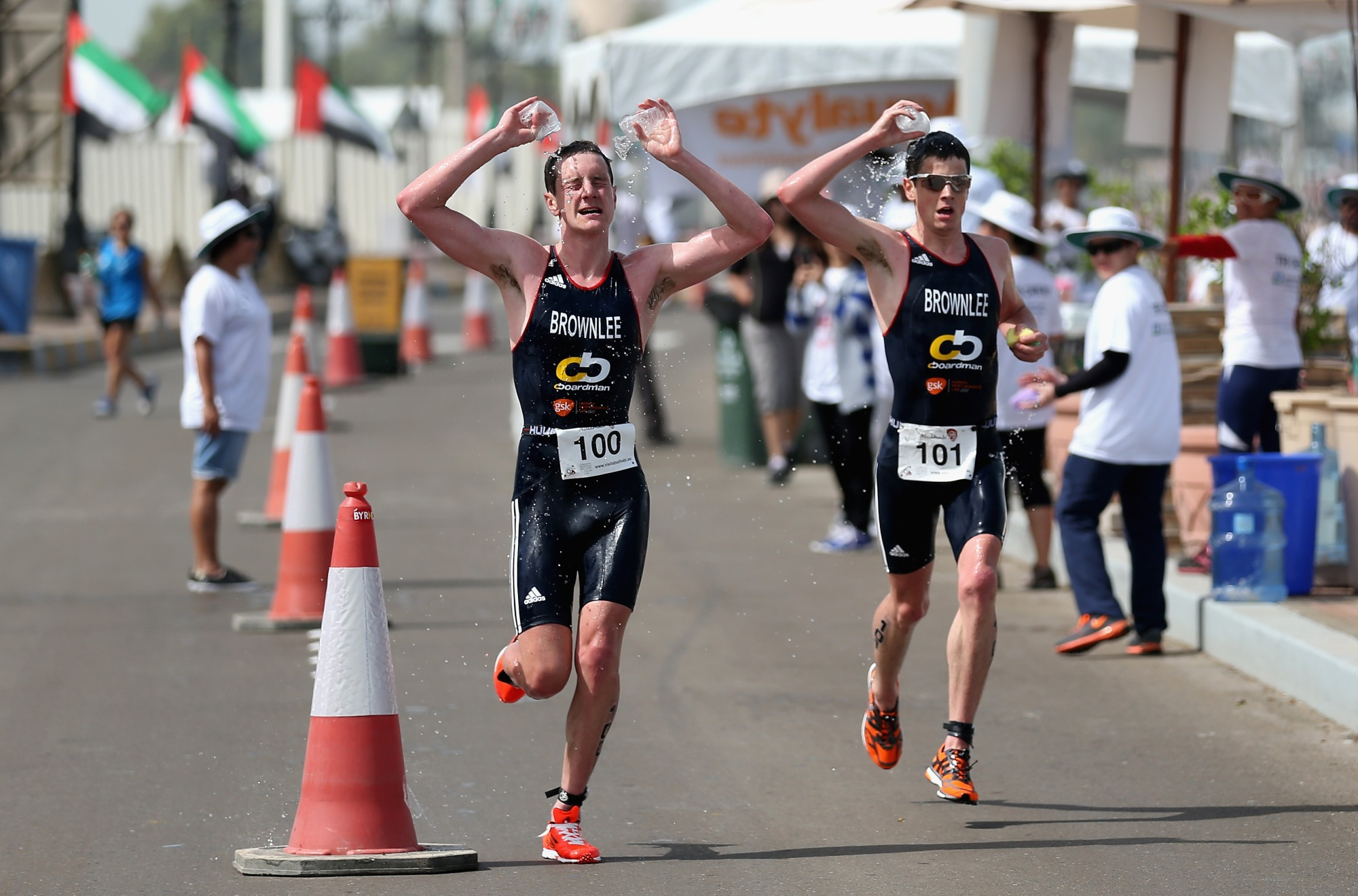 Abu Dhabi Triathlon brownlees 2014, abu dhabi triathlon review