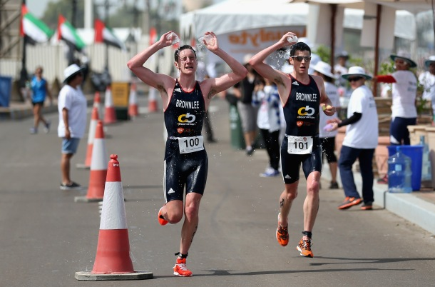 Abu Dhabi Triathlon brownlees 2014, abu dhabi triathlon review