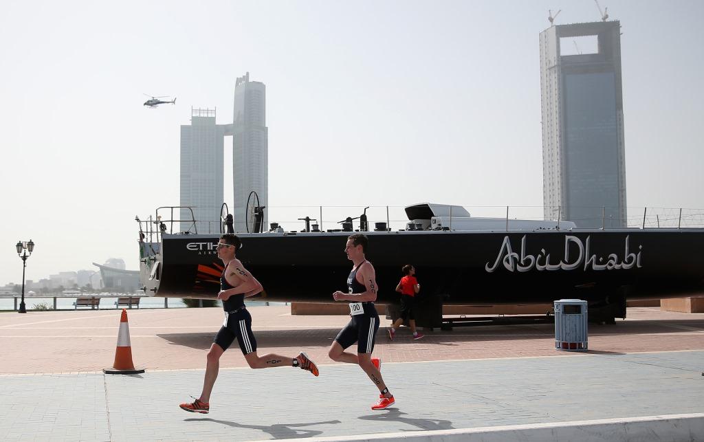 bBrownlees running abu dhabi