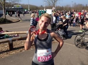 Surrey Half Marathon Zuzanna Feline