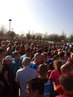 surrey half marathon runners, surrey half marathon review, surrey half marathon course, surrey half marathon hills