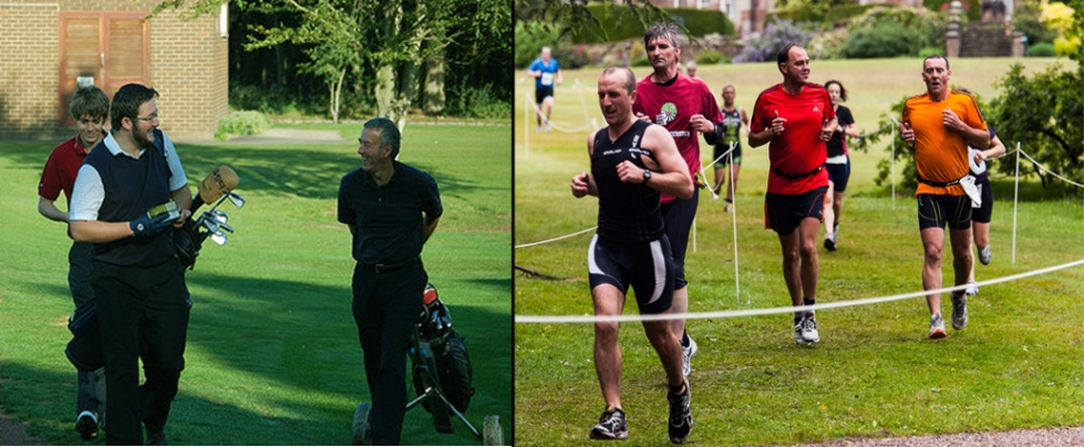 triathlon is the new golf
