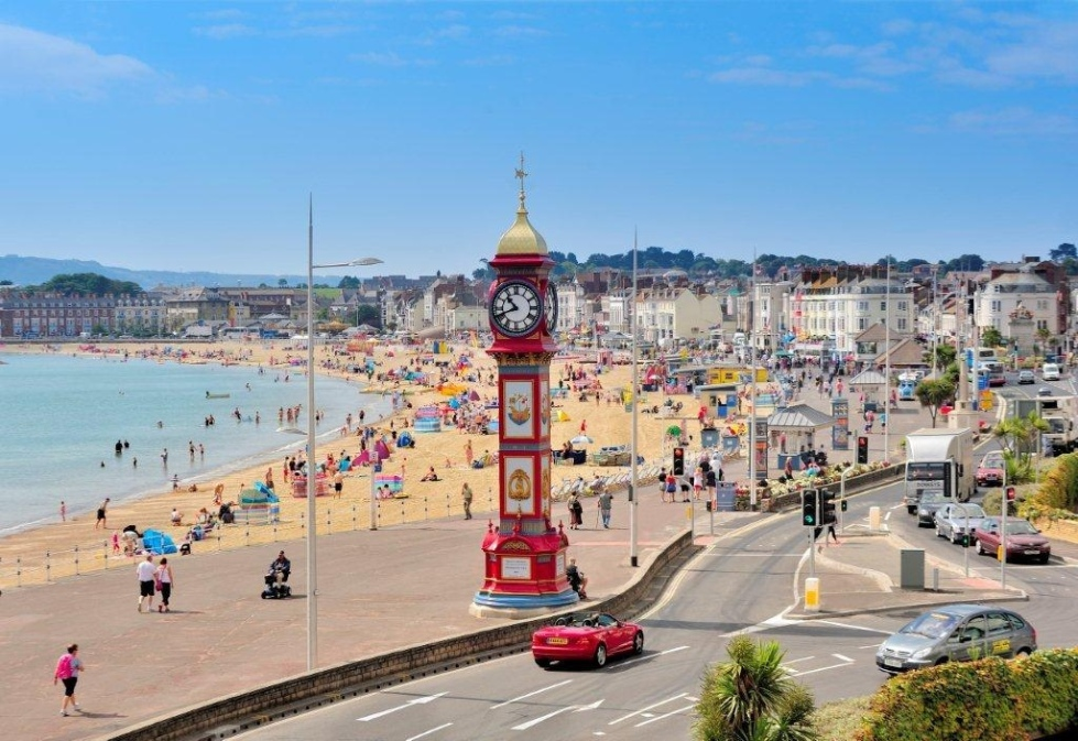 challenge weymouth triathlon beachfront