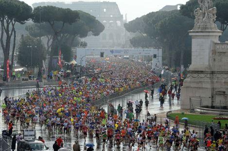 rome marathon size, rome marahton large, rome marathon 2014, rome marathon 2015