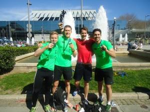 adam bennett barcelona marathon