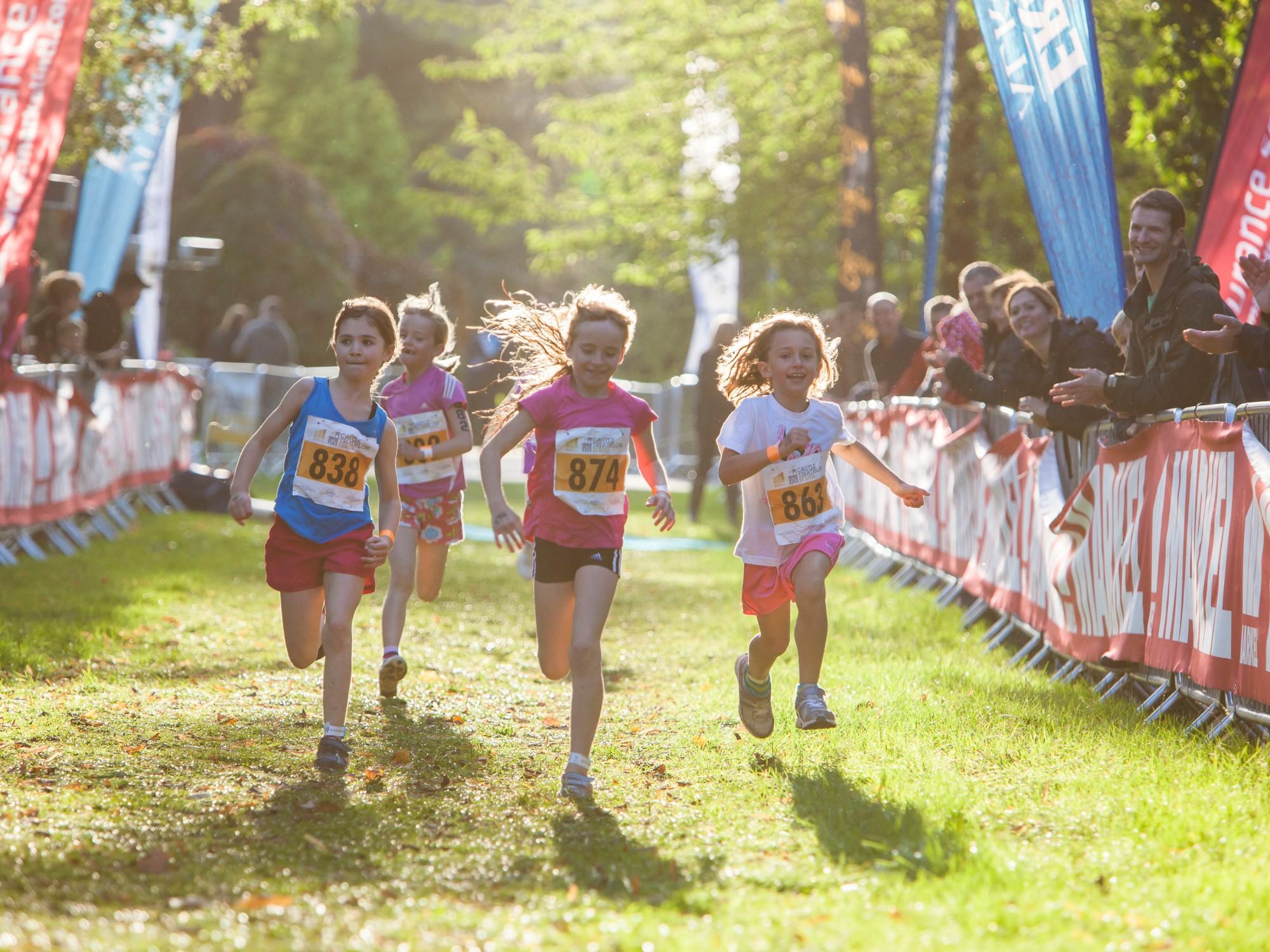 castle triathlon kids, castle tri schools programme