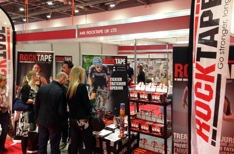 ROCK TAPE LONDON MARATHON STAND 2014