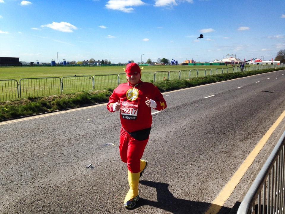 The Flash London Marathon