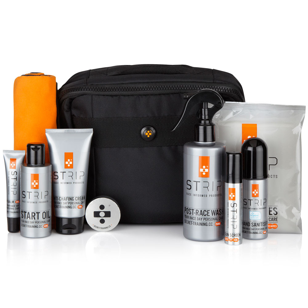 Secret-Training-Strip-Your-Race-Day-Personal-Care-Kit-contents