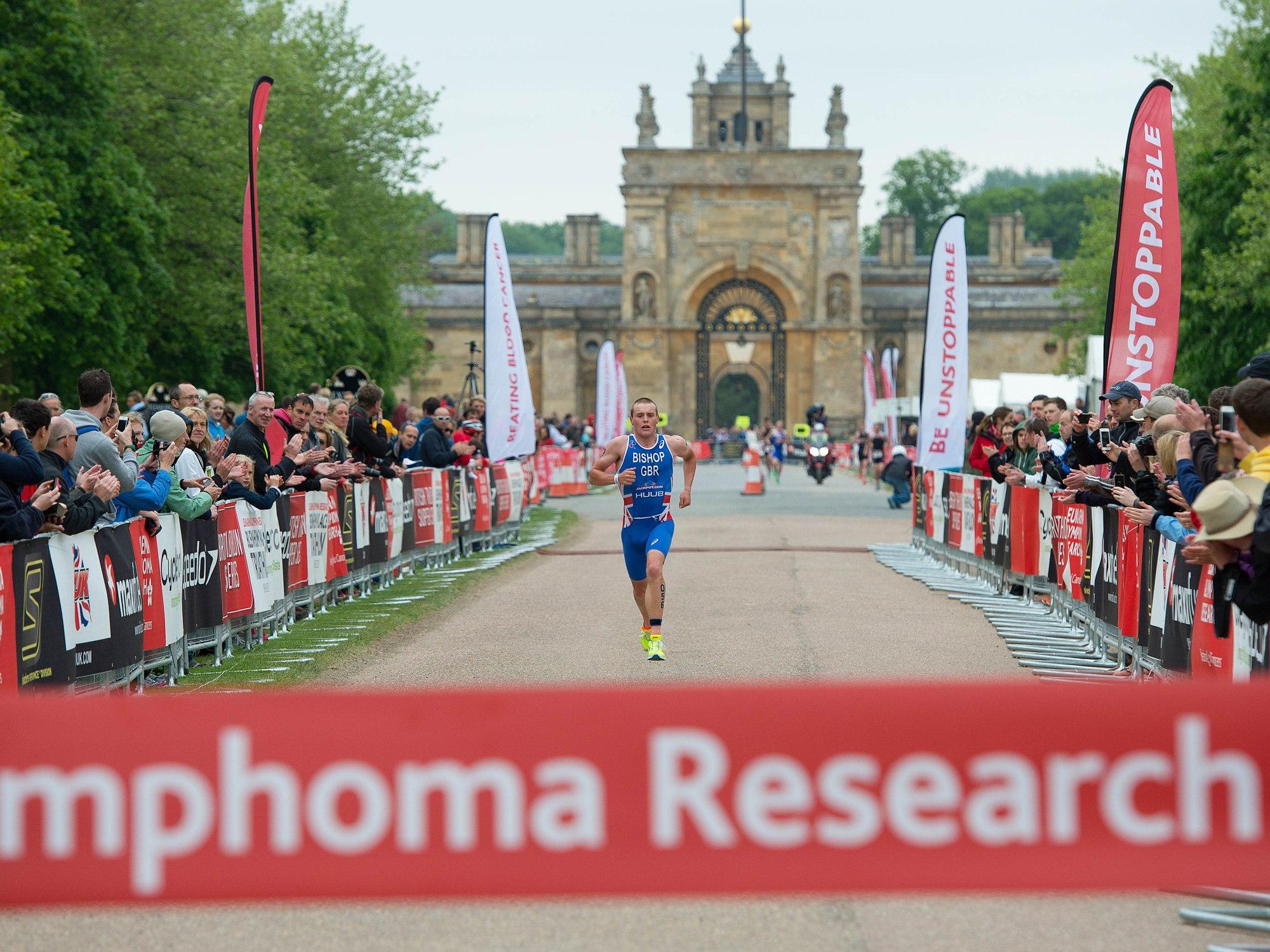 Blenheim palace triathlon 2015