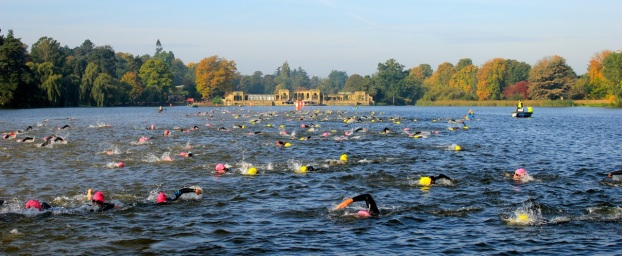 swim hever castle triathlon evening sprint