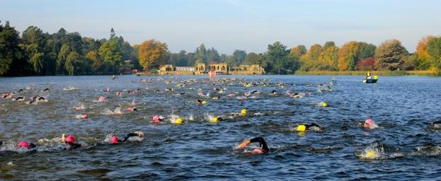 swim hever castle triathlon evening sprint