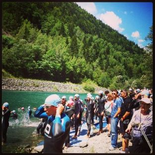 alp d'huez triathlon swim - facebook