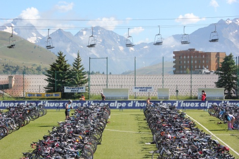 alp d'huez triathlon transition, alp d'huez triathlon review, alp d'huez triathlon set up transition advice