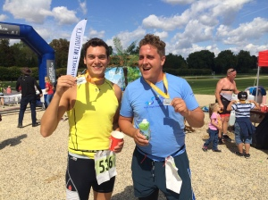 chantilly triathlon trireview, dr james bush, joe tidy