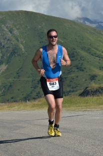 Paul Harrison Run Alp Triathlon, paul harrison sky news triathlon