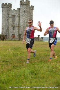 arundel triathlon run course