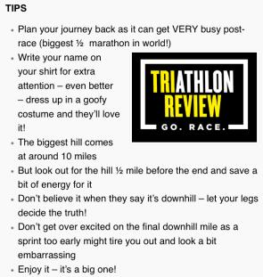 great north run tips