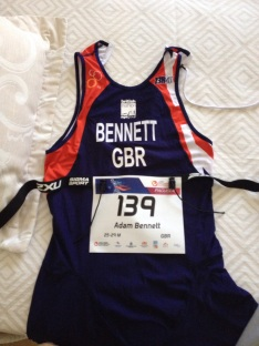Adam Bennett GB Kit, how to be a gb athlete