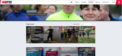 go tri website, triathlon england go tri website