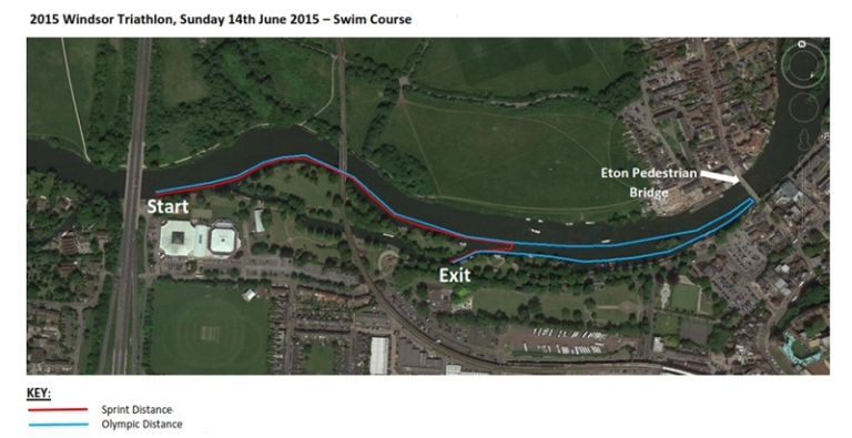 windsor triathlon new swim course 2015, windsor triathlon swim advice, windsor triathlon swim route, windsor triathlon 2015,